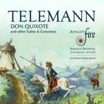 """DON QUIXOTE"": Concertos and Suites by Telemann"