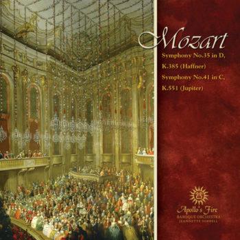 MOZART Haffner & Jupiter Symphonies